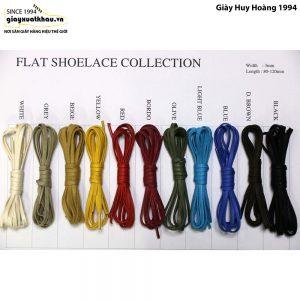 Cặp Dây cột giày tây nam dẹp nhiều màu 75cm 001