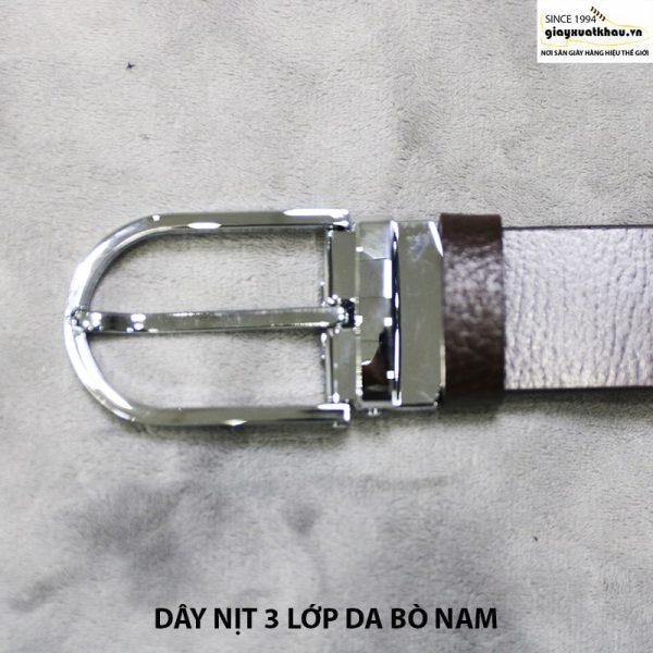 bán dây nịt nam thắt lưng giá rẻ da bò xuất khẩu 005