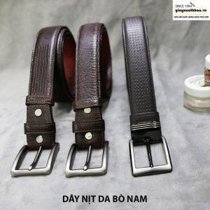 Bán dây nịt thắt lưng da nam cao cấp chính hãng 001