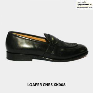 Giày lười da bò nam loafer cnes xk008 001