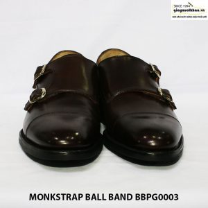 Giày da nam quai sandal monkstrap ball band giá rẻ bbpg0003 007