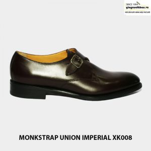 Giày da nam xuất khẩu union imperial monkstrap xk008 giá rẻ 001