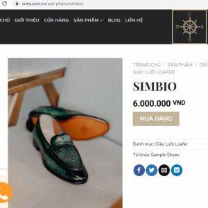 Giá niêm yết Giày lười nam đế da Loafer CNES XK008 Size 45