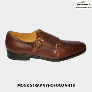Giày da nam quai hậu sandal monkstrap vyhofoco vh18 001