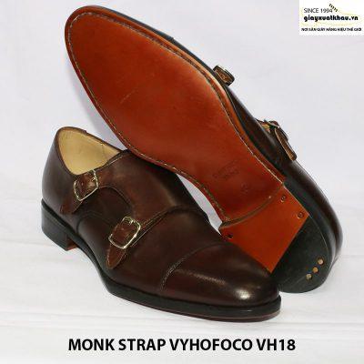 Giày da nam quai hậu sandal monkstrap vyhofoco vh18 006