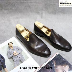 Giày nam da bò Loafer CNES T10 MIN 001