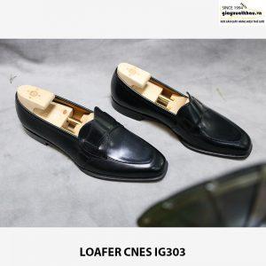 Giày lười nam da bò Loafer CNES IG303 006
