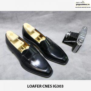 Giày lười nam da bò Loafer CNES IG303 001