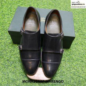 Giày tây da nam cao cấp Monk Strap Marengo size 41 cao cấp thủ công 019