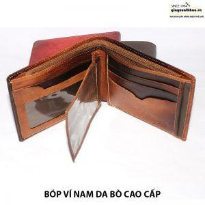 Bóp ví nam da bò đựng tiền giá rẻ Vyhofoco VN118 001