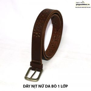 Dây nịt thắt lưng nữ 1 lớp DN206 giá rẻ 001