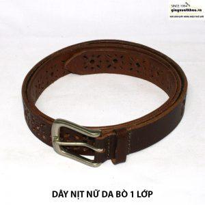 Dây nịt thắt lưng nữ 1 lớp DN206 giá rẻ 005