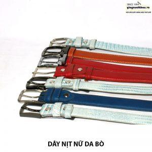 Bán dây nịt nữ 3 lớp dây thắt lưng giá rẻ DN207 001