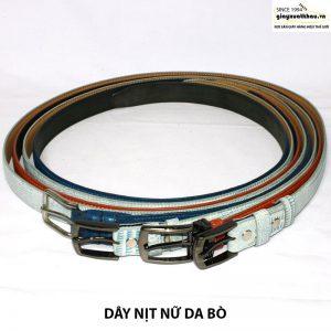 Bán dây nịt nữ 3 lớp dây thắt lưng giá rẻ DN207 005