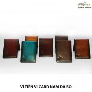 Bán bóp ví đựng card danh thiếp da bò nam CNES VN116 chính hãng 009