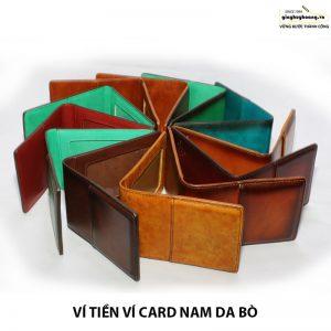 Bán bóp ví đựng card danh thiếp da bò nam CNES VN116 chính hãng 001