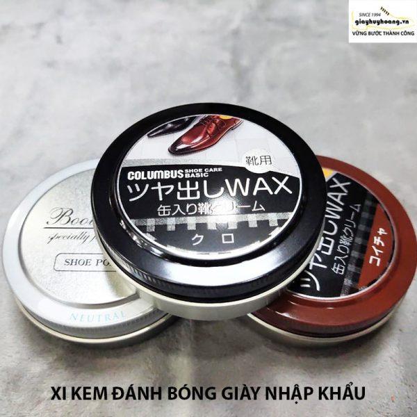 Kem xi đánh bóng giày tây da bò nam nữ nhập khẩu Nhật Bản 001