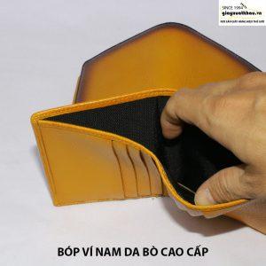 Bán bóp vi card danh thiếp nam nữ da bò giá rẻ CNES VN117 005