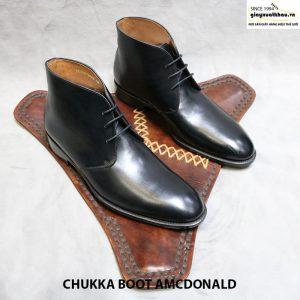 Giày công sở nam cổ cao Chukka Boot Amcdonald Size 44 001