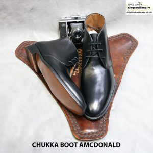Giày công sở nam cổ cao Chukka Boot Amcdonald Size 44 006