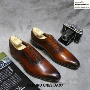 Giày oxford nam buộc dây CNES DA07 size 44+45 001