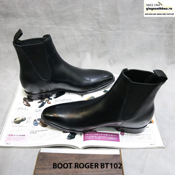 Giày boot nam cổ cao Roger BT102 size 38 005