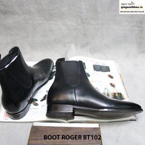 Giày boot nam cổ cao Roger BT102 size 38 004