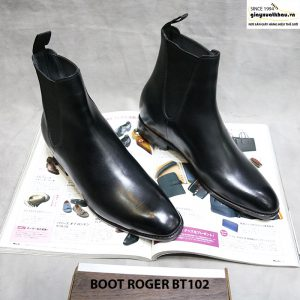 Giày boot nam cổ cao Roger BT102 size 38 001