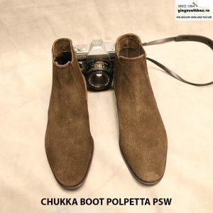 Giày nam cột dây Chukka Boot Polpetta PSW size 40 007