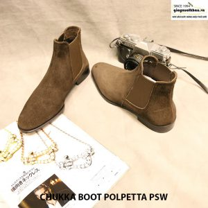 Giày nam cột dây Chukka Boot Polpetta PSW size 40 006