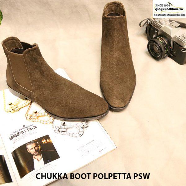 Giày nam cột dây Chukka Boot Polpetta PSW size 40 005