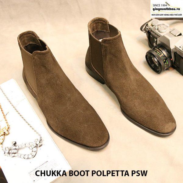 Giày nam cột dây Chukka Boot Polpetta PSW size 40 001