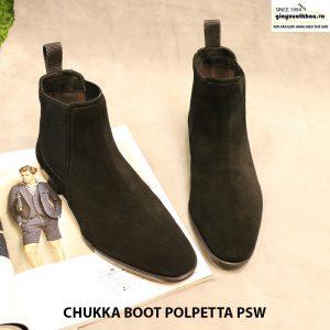 Giày nam cột dây Chukka Boot Polpetta PSW size 40 002