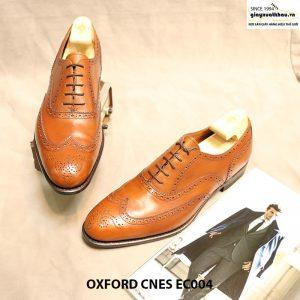Giày tây nam buộc dây Oxford CNES EC004 size 44 006