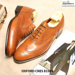Giày tây nam buộc dây Oxford CNES EC004 size 44 005