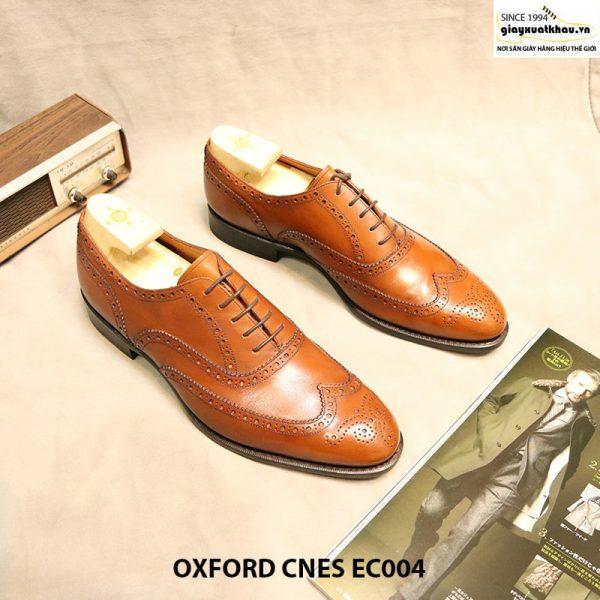 Giày tây nam buộc dây Oxford CNES EC004 size 44 001