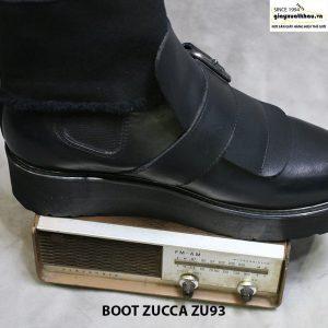 Giày đế cao boot cổ cao nam Zucca zu93 005
