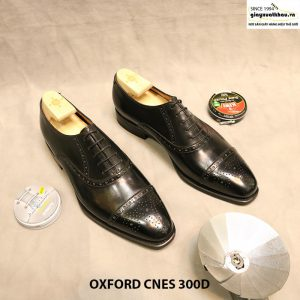 Giày tây nam cột dây Oxford CNES 300D size 42 001