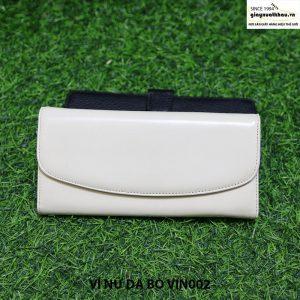 Bóp ví cầm tay nữ da bò VIN002 chính hãng 001