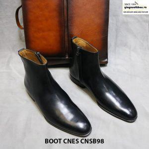 Giày boot nam dây kéo CNES CNSB98 size 42 001