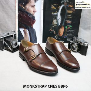 Giày da bò quai Monkstrap CNES L0003 size 36 001