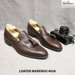 Giày lười da nam loafer Marengo 4036 size 42 001