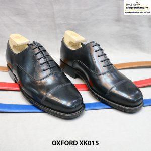 Giày tây nam mũi vuông Oxford XK015 Size 43 001