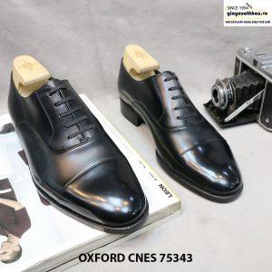 Giày oxford nam mũi vuông CNES 75343 Size 39 001