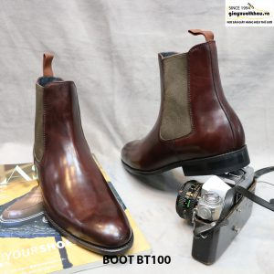 Giày Chelsea Boot cổ cao BT100 size 43 001