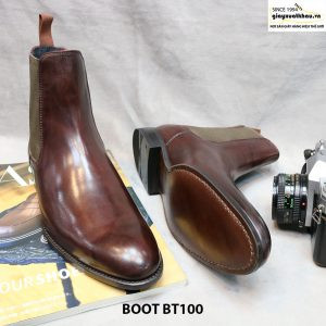 Giày Chelsea Boot cổ cao BT100 size 43 004