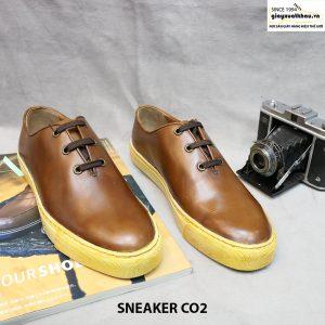 Giày da thể thao sneaker CO2 size 39+41 001