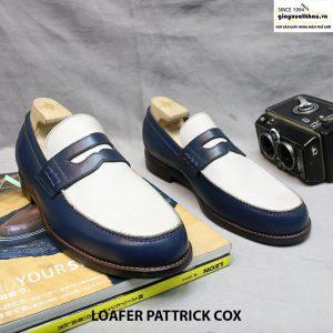 Giày mọi nam Loafer 2 màu Pattrick Cox size 42+43 001