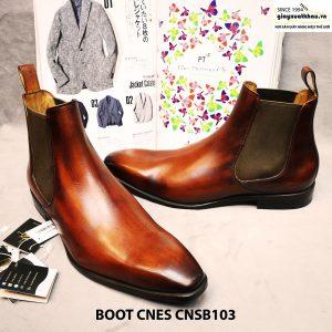Giày nam cổ cao Boot CNES CNSB103 size 45 003