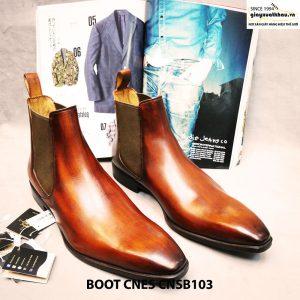 Giày nam cổ cao Boot CNES CNSB103 size 45 001